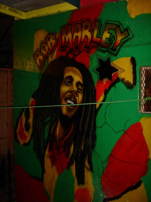Isla grande kuna yala panama san blas islands for Bob marley mural san francisco